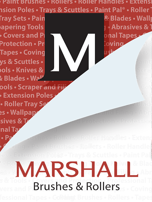 Marshall Brushes & Rollers Mobile Logo
